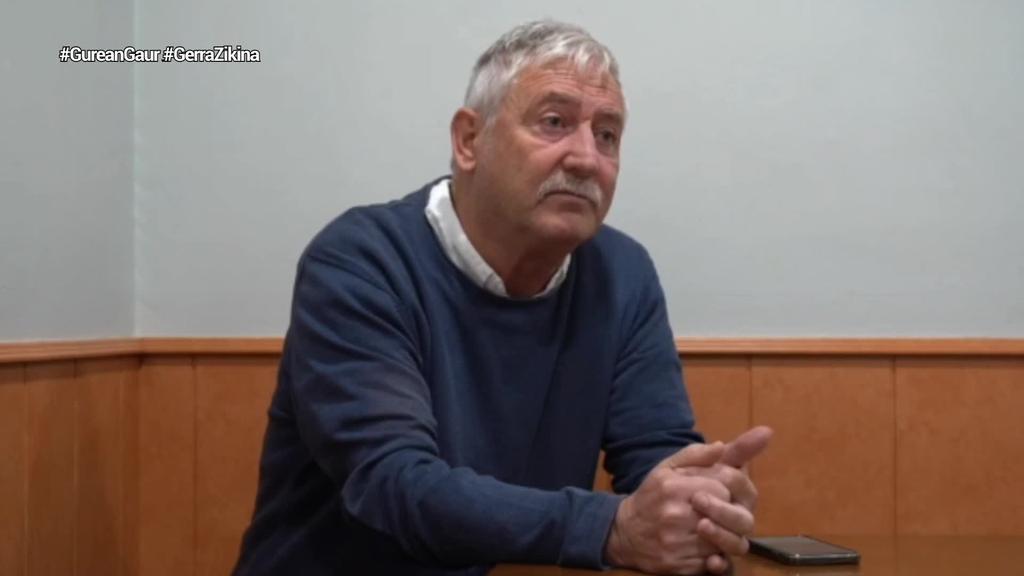 """Kike Zurutuza: """"ETAri leporatzeko, beste bi lehergailuak geldiarazi behar izan zituzten"""""""