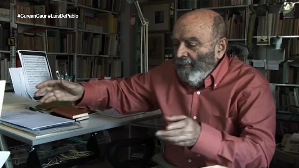 Luis de Pablo konpositore bilbotarra hil da, 91 urte zituela