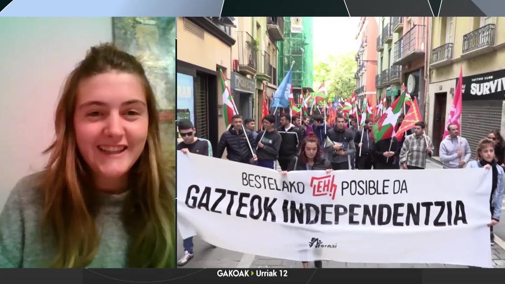 Ane Alava: 'Urriaren 12an ez dugu ezer ospatzeko, 78ko erregimena eraisten jarraituko dugu'
