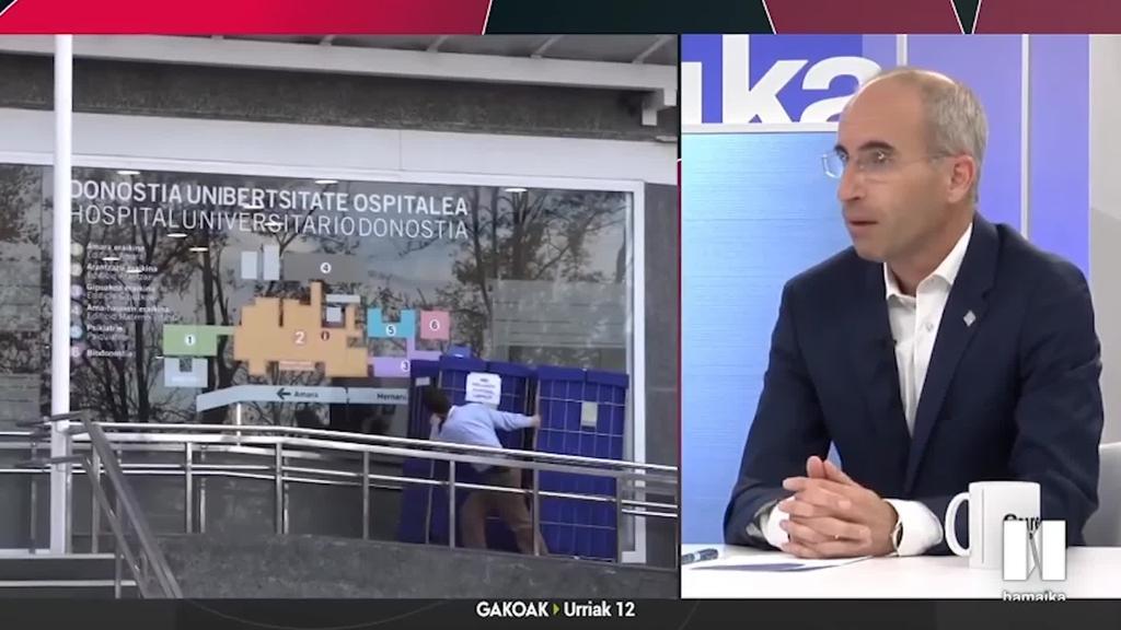 Eguzki Urteaga: 'Osasun-sistema eraginkorra ziurtatzeko, inbertsio handia egitea premiazkoa da'