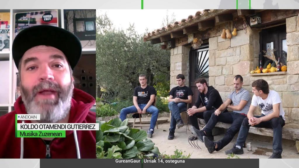 Koldo Otamendi: 'Bizitzan aurrera egin behar dela aldarrikatzen du Rotten XIII-k azken lanean'