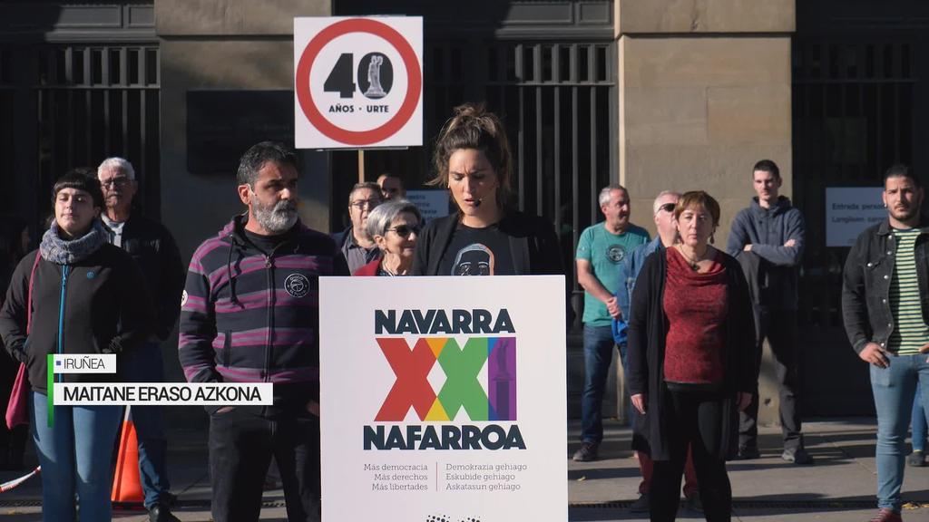 Nafarroa XXI, Nafarroaren erabakitze eskubidea sustatzeko ekimena aurkeztu dute Iruñean