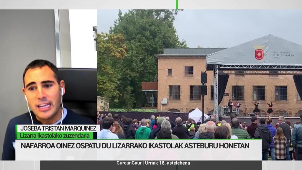 Joseba Tristan: 'Auzolana ezinbestekoa izan da Nafarroa Oinez aurrera eramateko'
