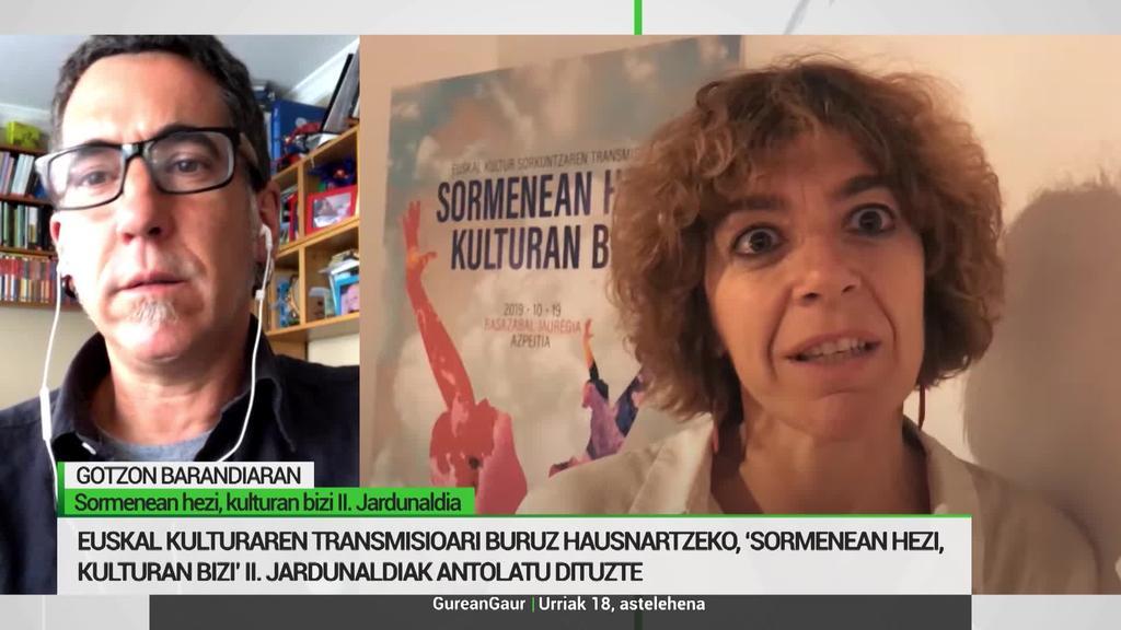 Gotzon Barandiaran: 'Euskarazko kulturgintzaren transmisioa ez dago bermatuta'