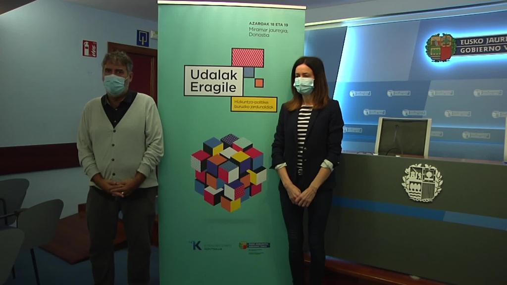 'Udalak eragile' jardunaldiak egingo dituzte Donostian Jaurlaritzak eta Kontseiluak