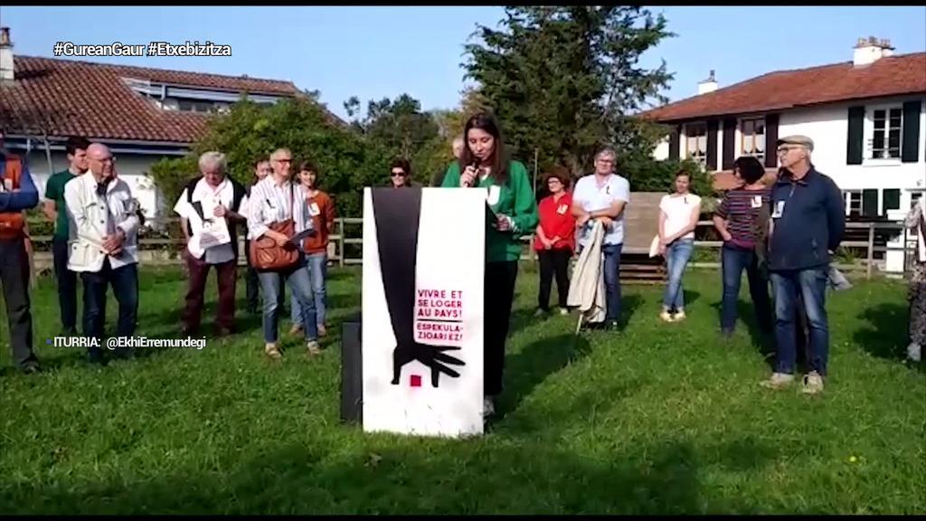 Etxebizitza eskubidearen alde manifestazioa egingo da azaroaren 20an Baionan