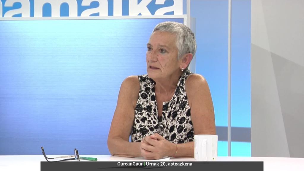 Ana Mezo: 'Etxean lan egin duten emakumeek pentsioaren %100a kobratu beharko lukete'