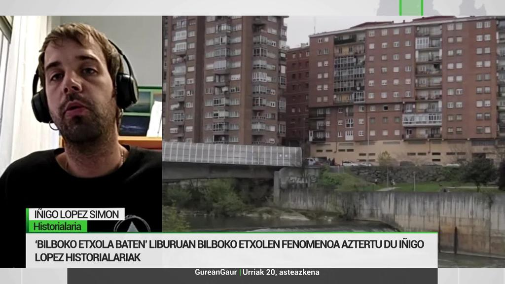 Iñigo Lopez historialariak etxolen fenomenoa aztertu du 'Bilboko Etxola batean' liburuan