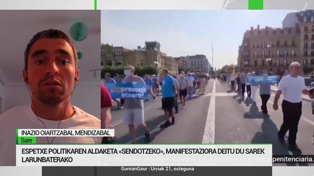 Inaxio Oiartzabal: 'Presoen salbuezpenezko espetxe politikaren amaiera lehentasuna da'