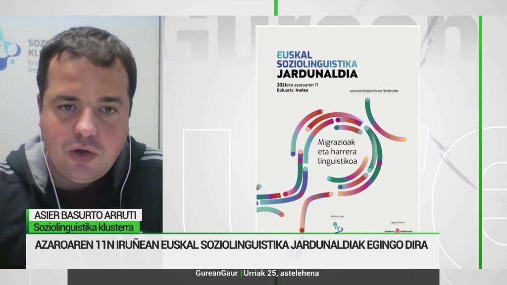 Asier Basurto: 'Etorri berriak euskararekiko sensibilitate bat garatzea da erronketako bat'