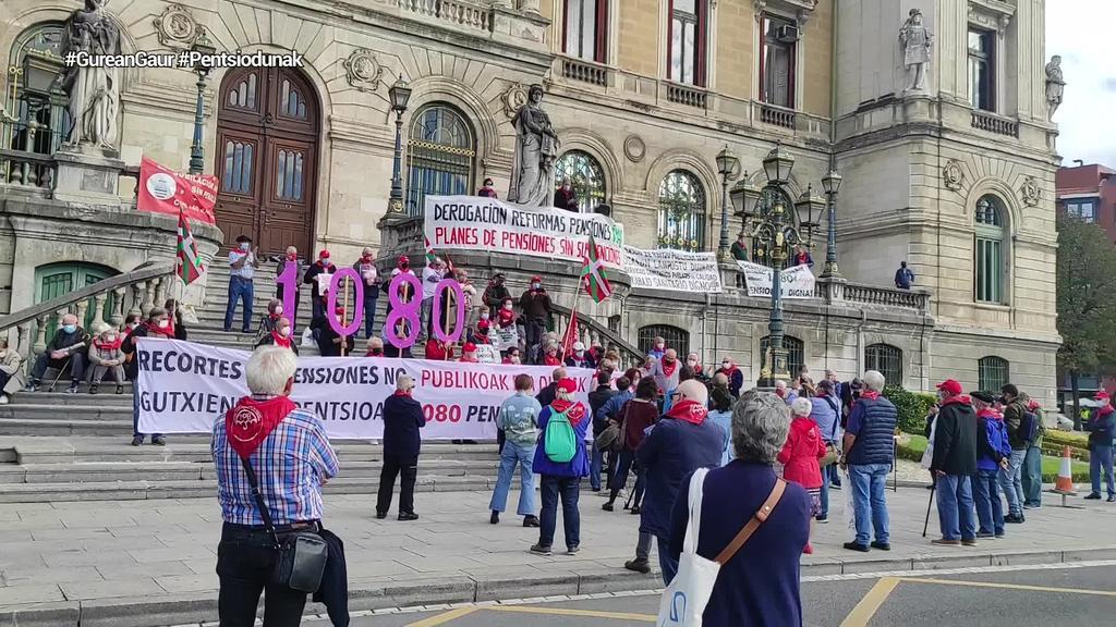 Azaroaren 13an manifestazioa egingo du Euskal Herriko Pentsiodunen Mugimenduak