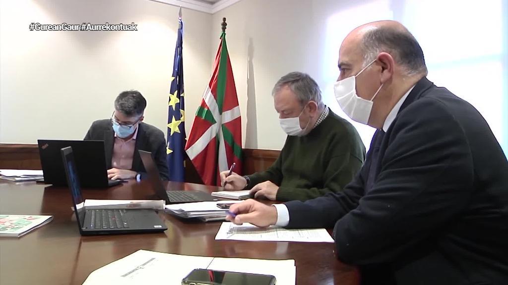 Jaurlaritzak 13.000 milioi eurotik gorako aurrekontu proiektua onartuko du gaur