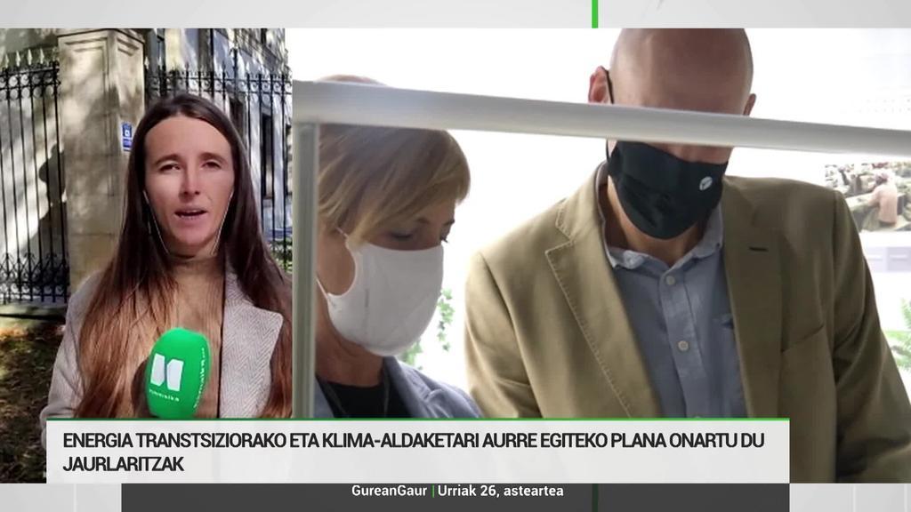 Udane Arbeo: 'Berotegi efektuko gasen isurketak % 30 murrizteko plana onartu du Jaurlaritzak'