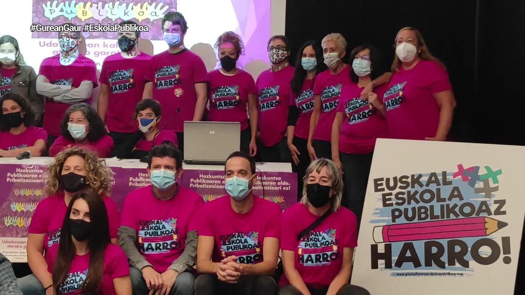 Hezkuntza publikoaren alde manifestazioa deitu du Eskola Publikoaz Harro topaguneak