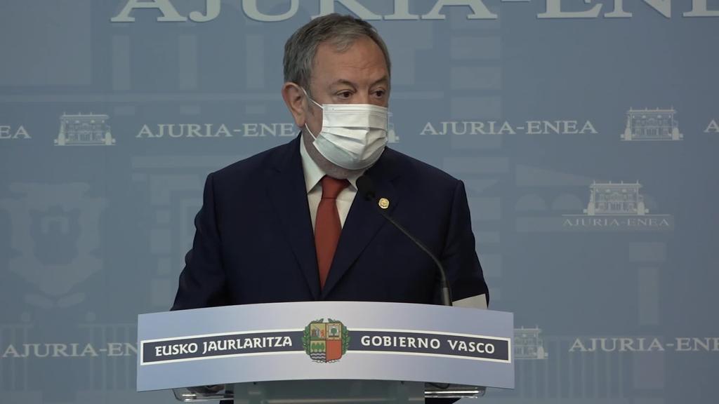 Pedro Azpiazu:  'Aurrekontuaren xedea susperraldi ekonomikoa bultzatzea da'